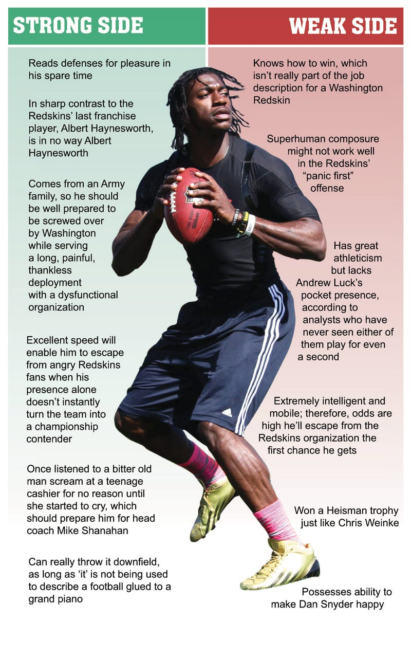 Illustration for article titled Robert Griffin III