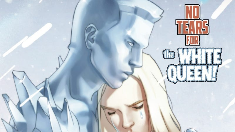 Illustration for article titled Iceman helps Emma Frost with a family matter in this exclusive preview