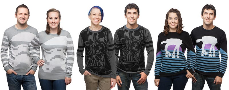 Illustration for article titled Star Wars Makes Ugly Holiday Sweaters Beautiful