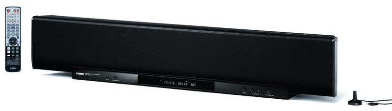 Illustration for article titled Yamaha's YSP-4000 Flagship Surround Bar Does Upscaling, HDMI, XM/iPods