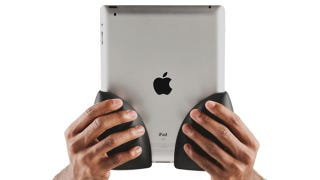 Illustration for article titled Grope-able Grips Let You Express Your iPad Love… Physically