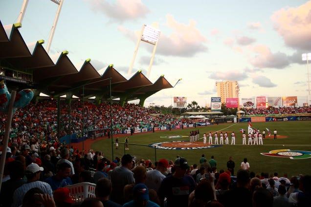 Hiram Bithorn Stadium in San Juan.