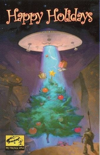 Illustration for article titled Happy Holidays From Petroglyph