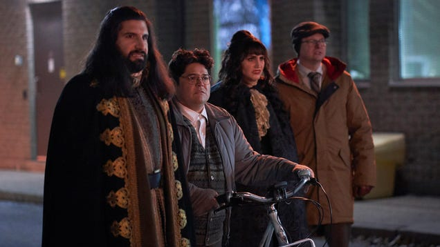 The vampires follow their animal instincts on a flea-ridden What We Do In The Shadows
