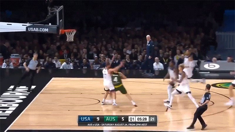 Kyle Kuzma Demonstrates Beautiful Touch As He Scores On His Own Basket