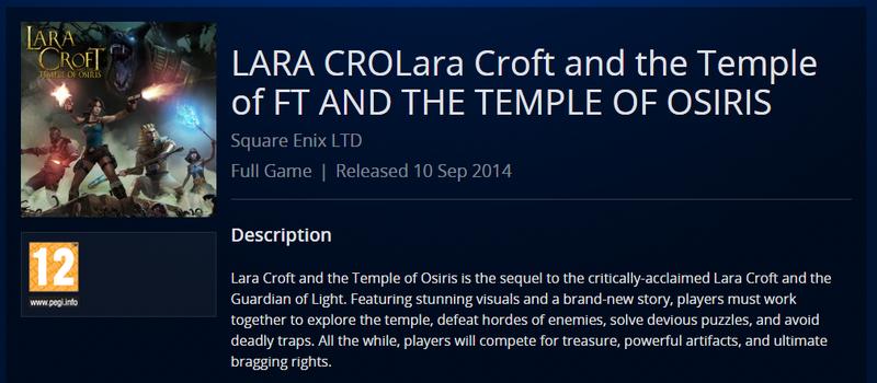 Illustration for article titled I'm a big LARA CROLara fan. Are you?
