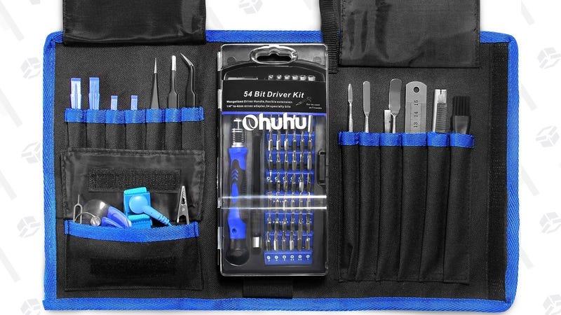 Ohuhu 77-in-1 Gadget Repair Kit | $17 | Amazon | Promo code OHU8DOFF