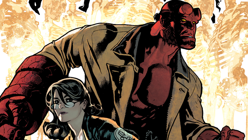 Hellboy gets more than he bargained for when he joins a ghost hunt gone awry.