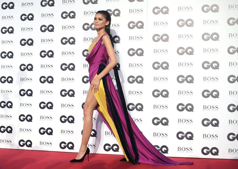 Zendaya attends the GQ Men of the Year awards at Tate Modern on Sept. 5, 2018 in London, England.