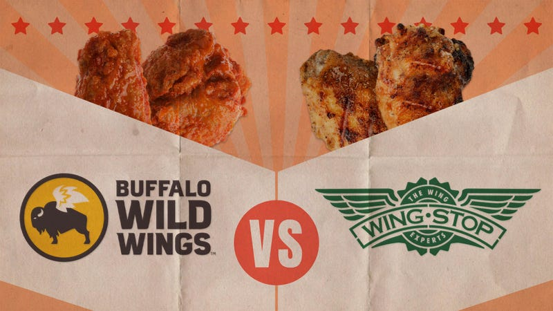 Illustration for article titled Buffalo Wild Wings vs. Wingstop: A chicken fight for wing supremacy