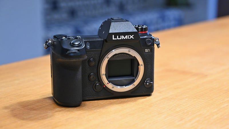 Panasonic's First Full-Frame Mirrorless Cameras Are Big