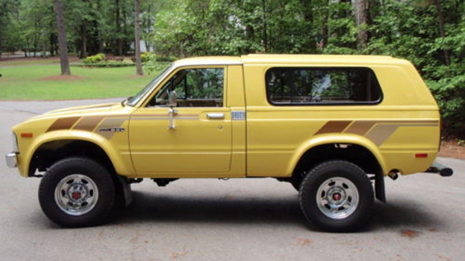 1981 Toyota Trekker Was The Forerunner Of The 4runner