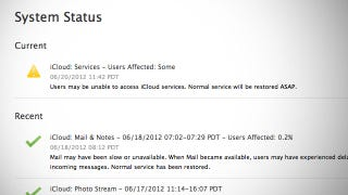 Illustration for article titled Apple's Cloud Services Are Experiencing a Significant Outage