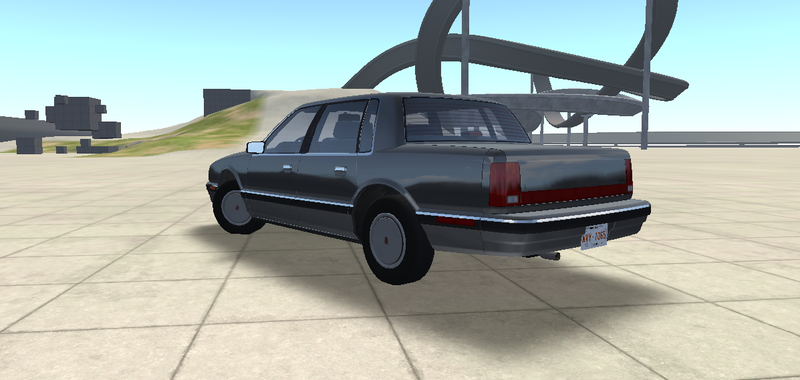 Illustration for article titled BeamNG just added a Cutlass Ciera.