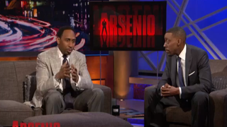 Stephen A. Smith and Arsenio Hall    Youtube