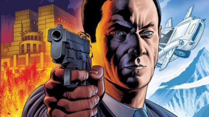 Illustration for article titled Matthew Vaughn's adaptation of Mark Millar's Secret Service casts Michael Caine and Colin Firth