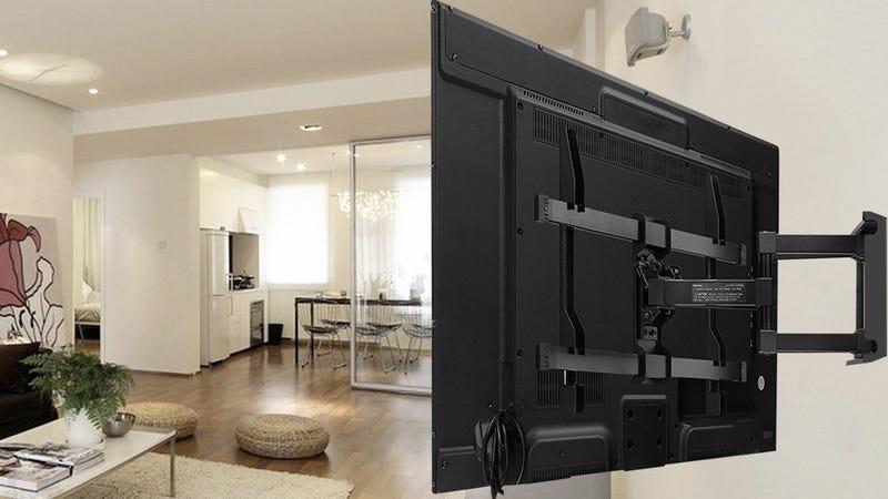 Perlesmith Articulating TV Wall Mount | $35 | Amazon | Promo code CU7PQPWS