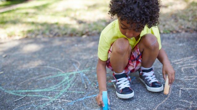 How to Organize a Neighborhood  Chalk Walk