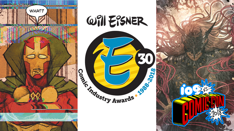 Mister Miracle and Monstress were two big winners at the Eisners this year.