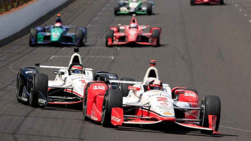 How Many Laps In Indy 500 >> Ride Along With Montoya And See What It Looks Like To Win The Indy 500