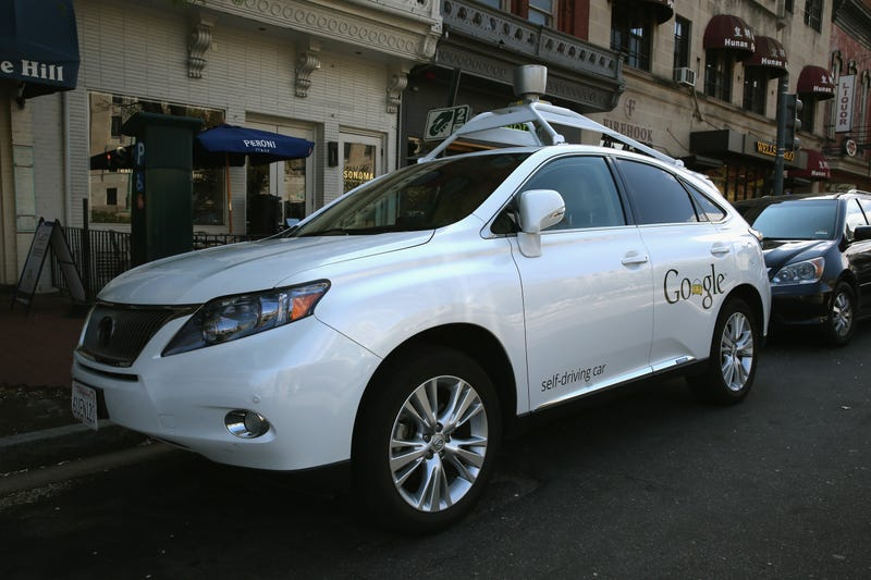 A Google Lexus RX 450h in Washington, DC in 2014. Photo credit: Mark Wilson/Getty Images
