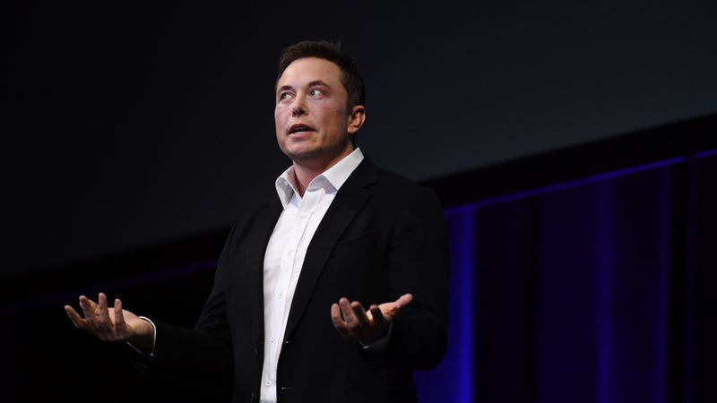 Elon Musk mistakenly tweets phone number