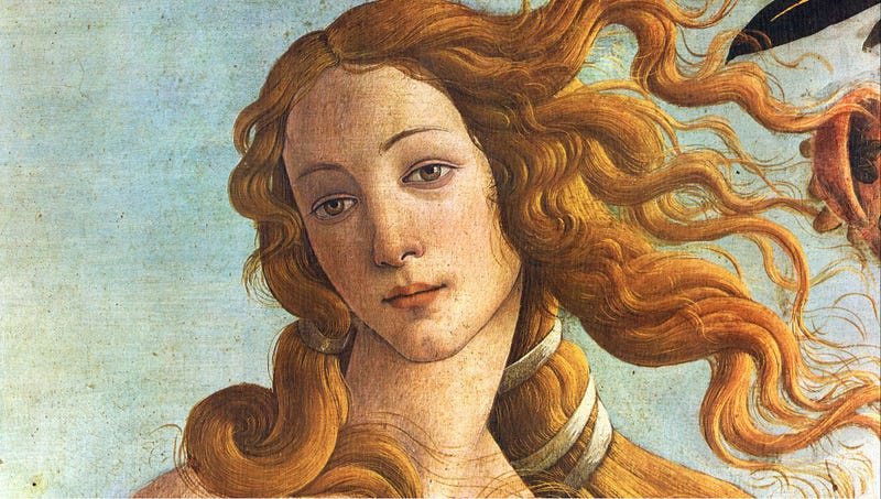 Illustration for article titled Venus Horrified After Finding Millions Of Nude Pictures Of Herself On Internet