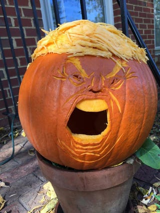 Illustration for article titled Trumpkin, or a Hallowe'en Nightmare.....