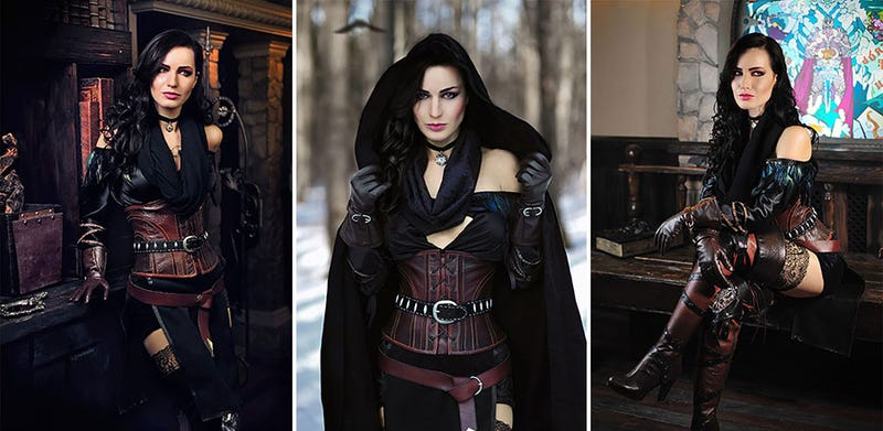 Illustration for article titled Cosplay Brings The Witcher 3's Yennefer To Life