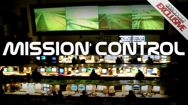 ... real-time images from a network of cameras, while employees look at a million points of data on their own computers. It's Houston's other mission ...