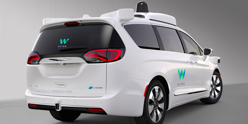 Waymo's new sexy....minivan. Photo Credit: FCA