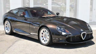 Illustration for article titled This Viper-Based Alfa Romeo Is Gloriously Brown And Yours For $700,000
