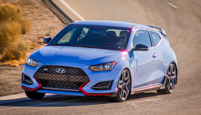 The 275 Horsepower 2019 Hyundai Veloster N Is Ready To Attack The