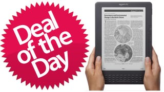 "Illustration for article titled This 9.7"" Kindle DX Is Your Oh-My-God-This-Thing-Is-Huge Deal of the Day"
