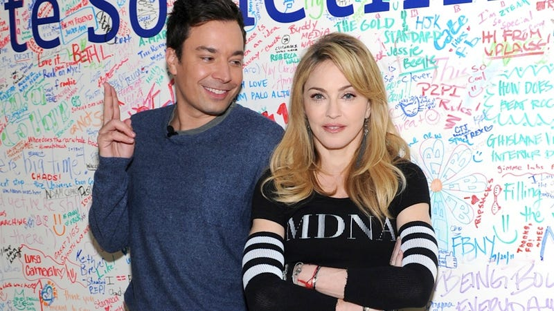 Illustration for article titled Jimmy Fallon No Longer Amuses Madonna