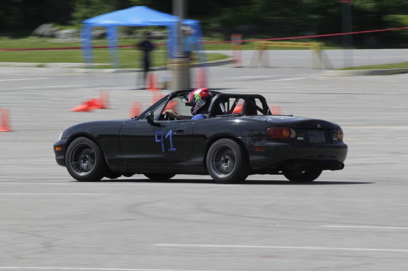Illustration for article titled Did I mention that I drove a prepped Miata today?