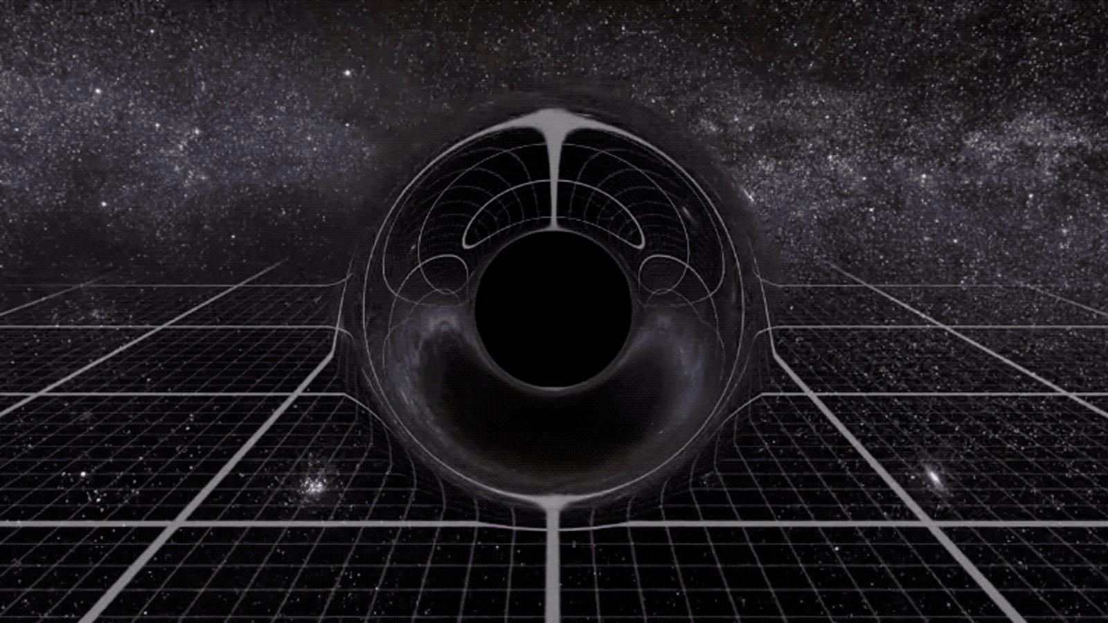 La comparación del tamaño de los agujeros negros te hará reconsiderar la palabra supermasivo