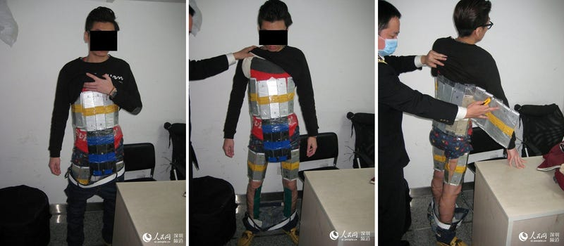 Illustration for article titled How Not to Smuggle 94 iPhones Through Chinese Customs