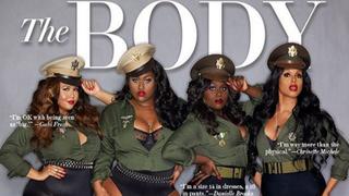 Ebony's March 2016 cover features beautiful plus-size women.Ebony magazine
