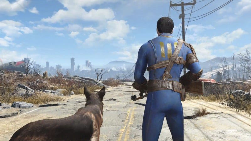 Illustration for article titled Fallout 4 emerges from its secret underground bunker with trailer in hand