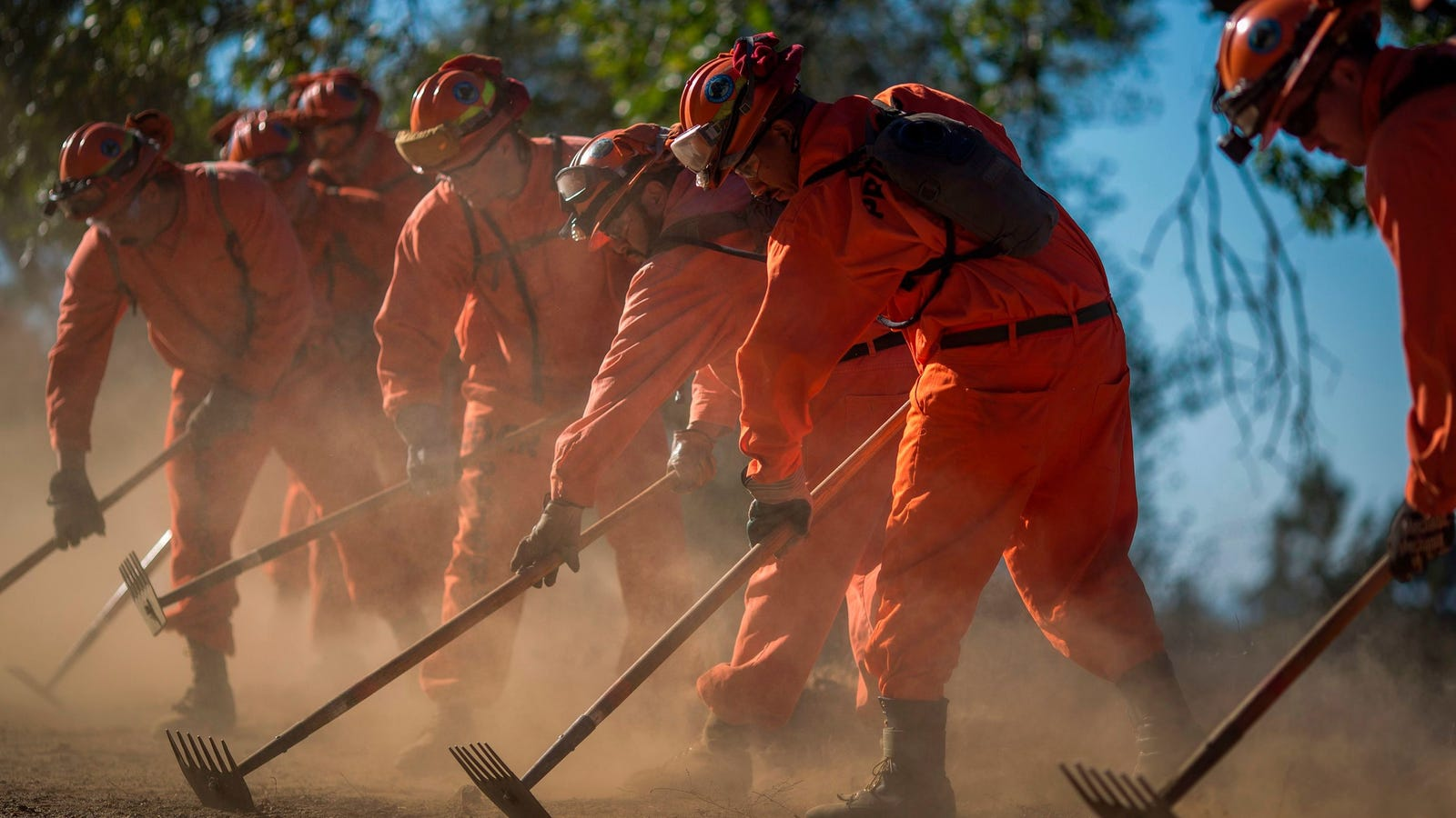 California Is Blaming Prison Reform for Incarcerated Fire Fighting Labor Shortage