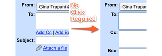 Illustration for article titled Always Show Gmail's CC: Field User Script