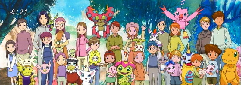 Illustration for article titled ​The 10 most memorable Digimon Of The First Two Seasons