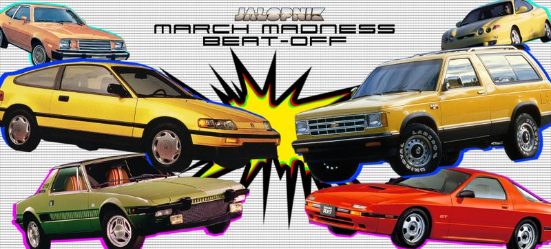 Illustration for article titled Prepare Yourselves For Jalopnik March Madness Beat-Off: Round 2