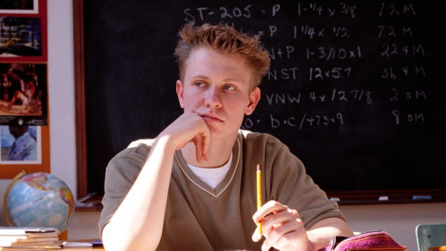 Quiet Nerdy Kid Lies In Wait For Perfect Moment To Unleash Freestyle Rap Abilities On Classmates