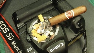 Illustration for article titled Please Let This Canon 5D Mark II Ashtray Be Fake