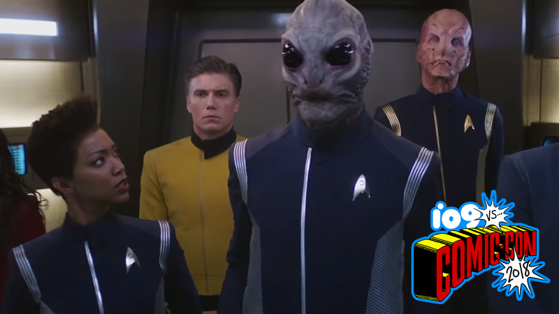 Linus the Saurian for best new Star Trek character 2018.