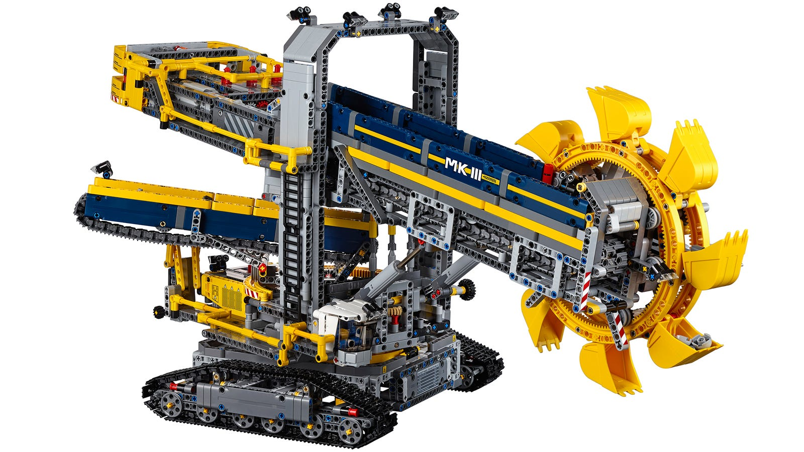 lego 39 s largest technic set can dig a moat around your home. Black Bedroom Furniture Sets. Home Design Ideas