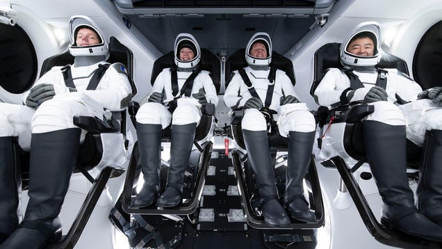 How to Watch the Launch of NASA's SpaceX Crew-2 Mission to the ISS