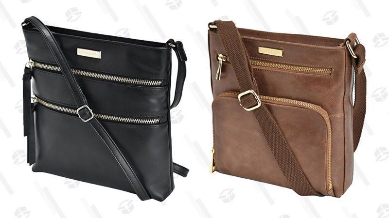 Bolsos de cuero Estalon   $25-$26   AmazonGráfico: Jillian Lucas